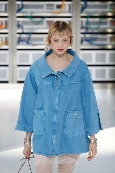Denim Deluxe. Chanel
