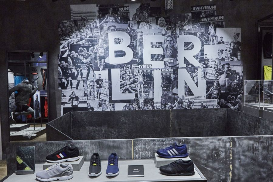 Store des Tages: Adidas Running, Berlin