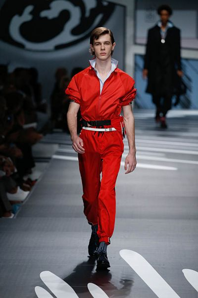 Boilersuit Boy. Prada