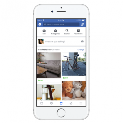 Social Media: Der Facebook Marketplace