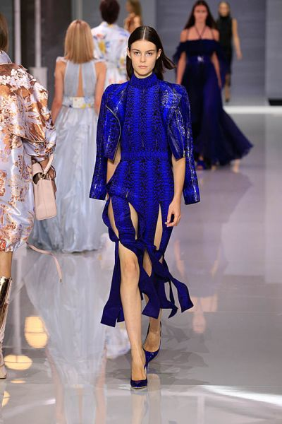 Electric Blue. Ralph & Russo
