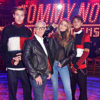 London Fashion Week: Front Row bei Tommy Hilfiger