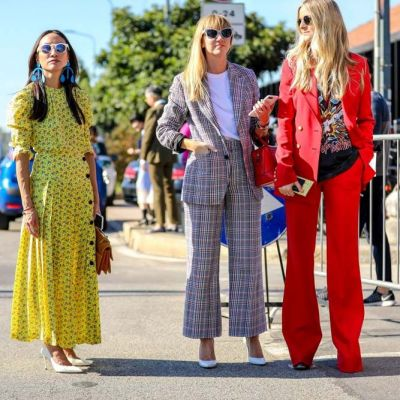 Streetlooks Mailand: Knallbonbon und Konfektion
