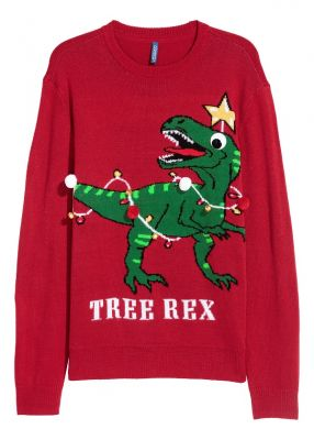 Christmas Pullover: Ironic
