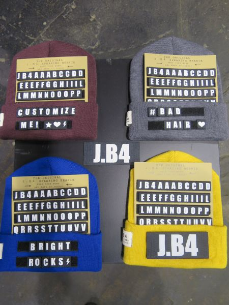 Customize your Beanie: J.B4 auf der Bright
