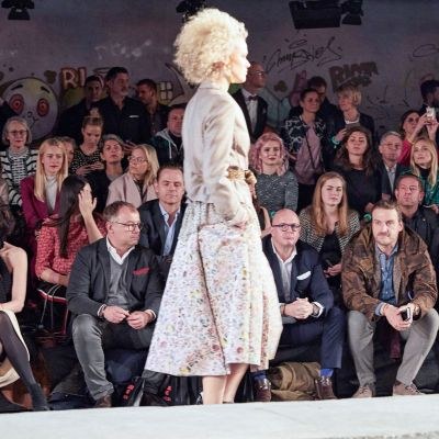 Berlin Fashion Week: Front row bei Marc Cain
