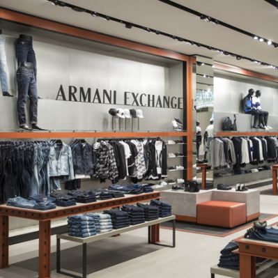 Neuer Store:  A|X Armani Exchange in der Mall of Berlin