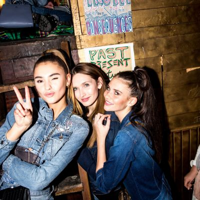 Dirty Denim Party: QS feiert Kooperation mit Stefanie Giesinger