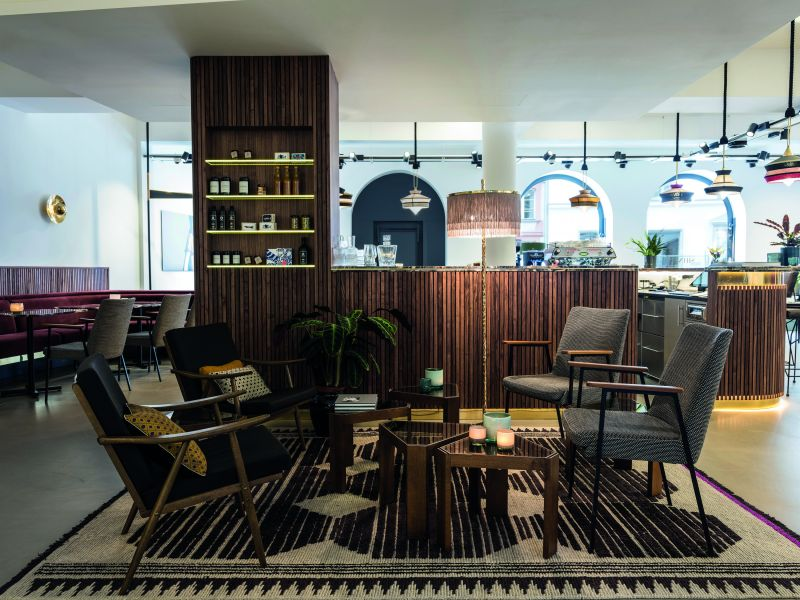 trends im store design neue gastr ume. Black Bedroom Furniture Sets. Home Design Ideas