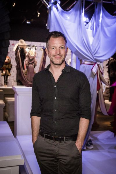 Curator Thierry Maxime-Loriot
