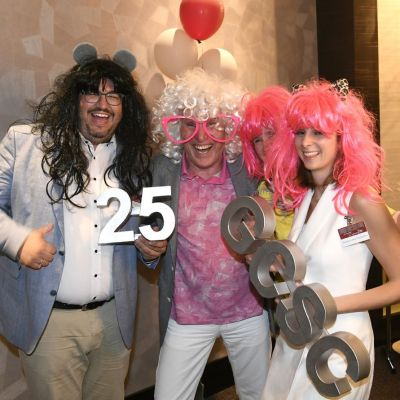 Silber-Party: 25 Jahre German Council of Shopping Centers