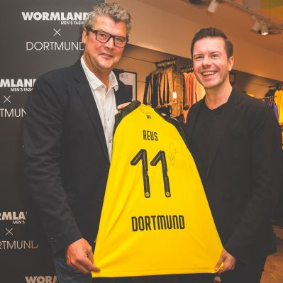 Wormland in Dortmund: Re-Opening mit der Borussia