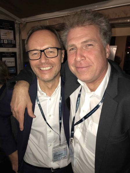 Dirk Brockmann (HLG), Lars Richter (Union Investment)