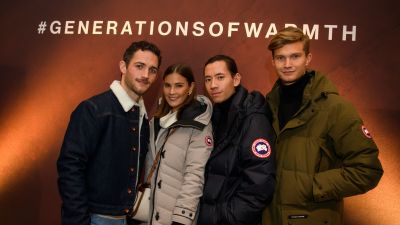 Basecamp-Event in München: Canada Goose macht sich's warm
