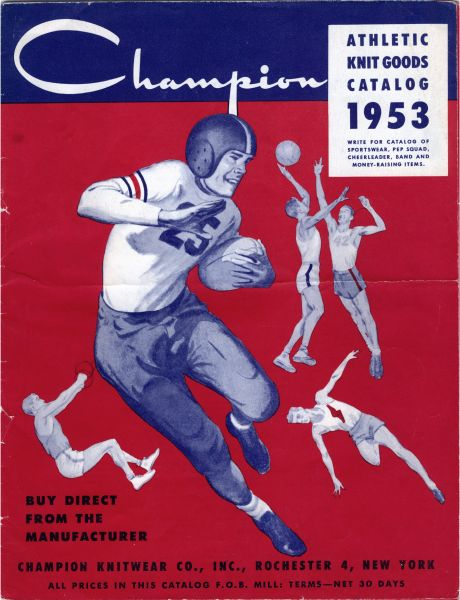 Der Champions Athletics Catalog von 1953