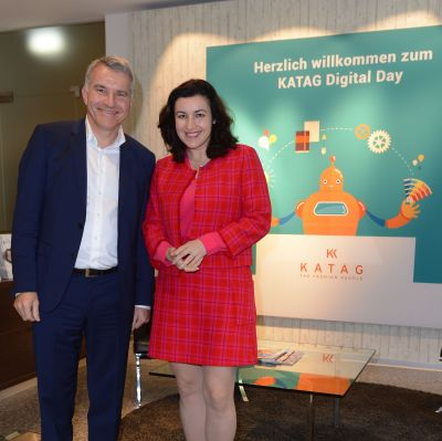 Katag: Digital Day mit Dorothee Bär
