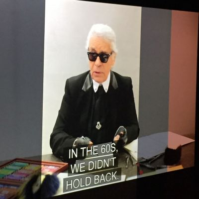 Fendi-Show in Mailand: Hommage an Karl Lagerfeld