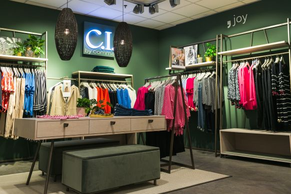 Neueste Shop-Generation: CI by Comma.
