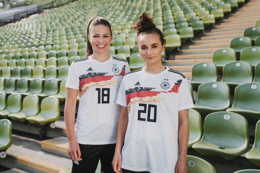 Adidas: Das neue WM Jersey der DFB Frauen