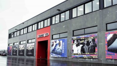 Der 11teamsports-Store am neuen Headquarter in Satteldorf