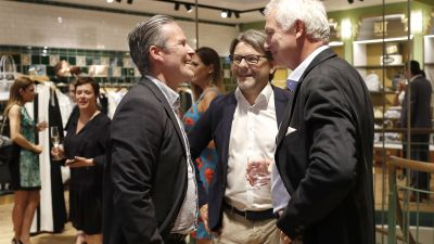 Very british: Store Opening bei Ted Baker in Hamburg