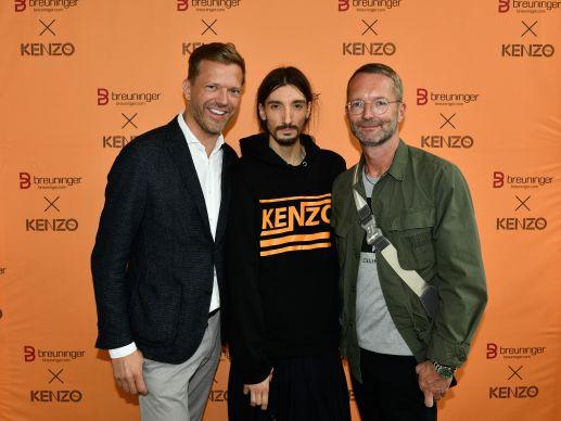 Exklusive Partnerschaft: Breuninger und Kenzo launchen