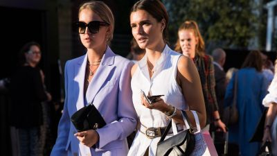 Streetlooks von der Berlin Fashion Week: Clean Cuts an der Spree