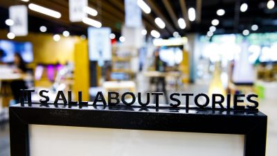 Neues Store-Konzept der ECE:  It's all about stories
