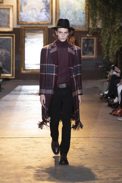 Blanket goes Coat / Etro