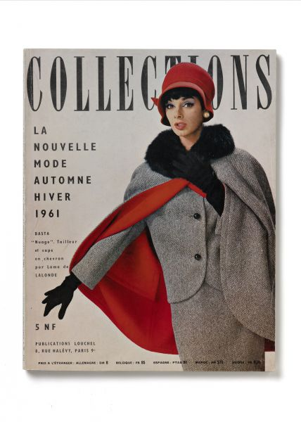 "Magazincover ""Collections"", 1961, Frankreich"
