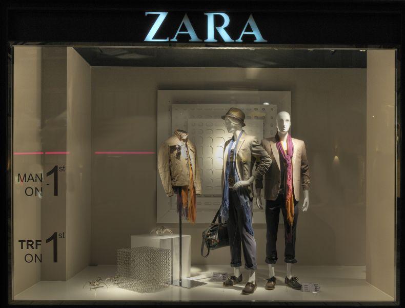 Schaufenster Munchen Zara