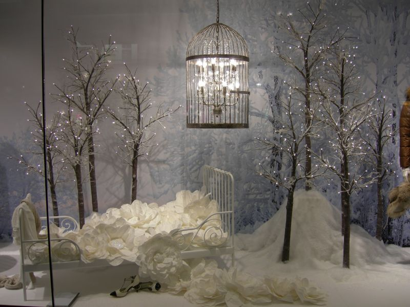 Schaufenster traumreise zur weihnachtszeit for Weihnachtsdeko schaufenster
