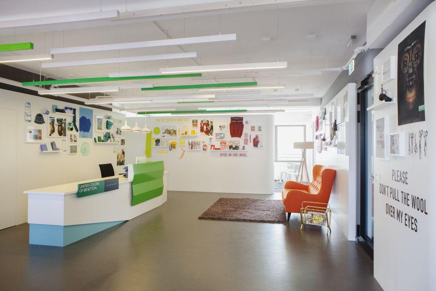 unternehmen benetton er ffnet neue deutschland zentrale. Black Bedroom Furniture Sets. Home Design Ideas
