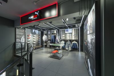 Gallery: Puma Lab-Fläche im Foot Locker-Store in Mailand
