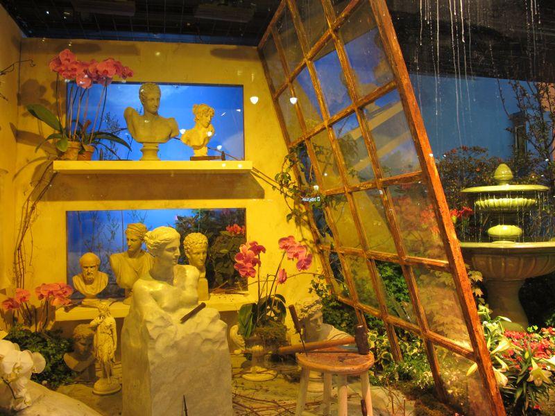 schaufenster art in bloom macy 39 s begr t den fr hling