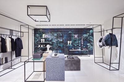 Gallery: Instore-Design: Tapete