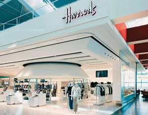 Harrods am Londoner Flughafen Heathrow