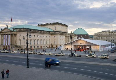 Mode am Bebelplatz: Das Zelt der Mercedes-Benz Fashion Week