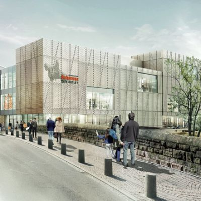 Geplantes Barbarossa City Outlet in Gelnhausen