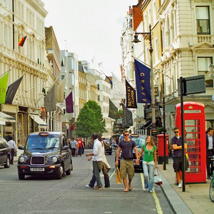 Bond Street in London