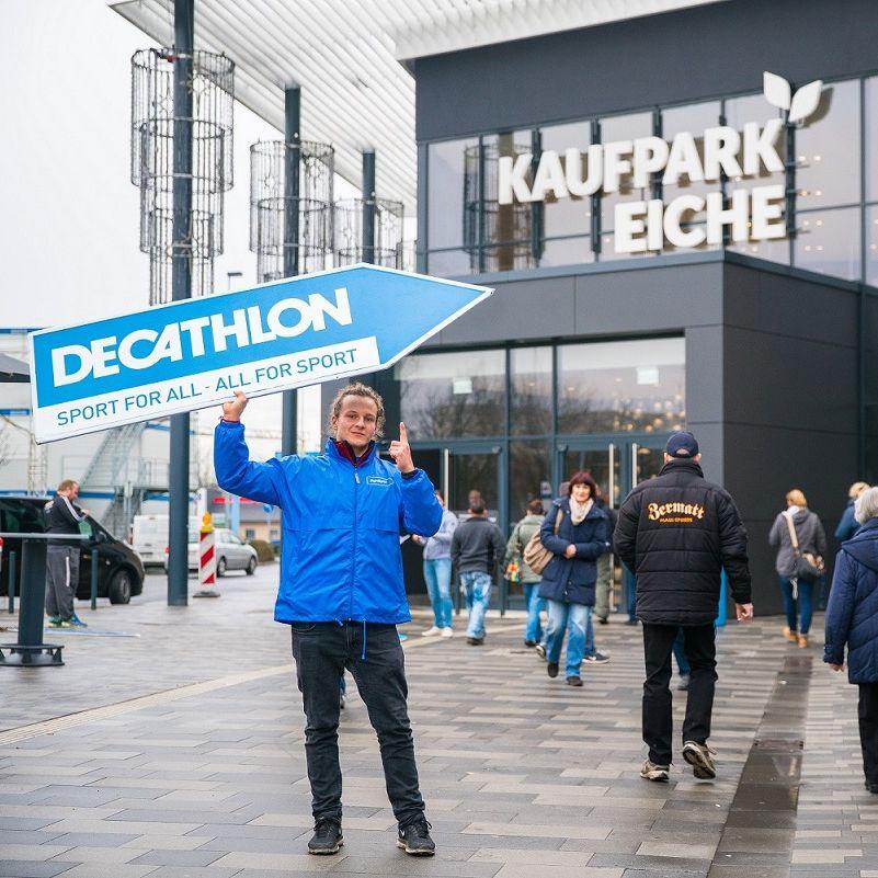sportfachhandel decathlon baut deutsches ladennetz weiter aus. Black Bedroom Furniture Sets. Home Design Ideas