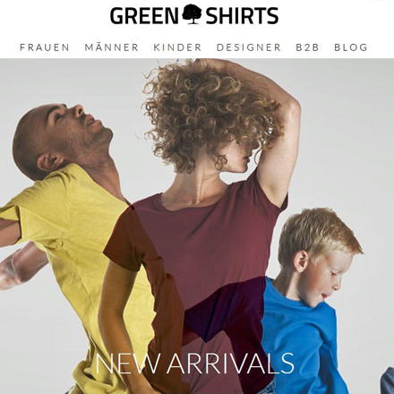 Green Shirts-Homepage