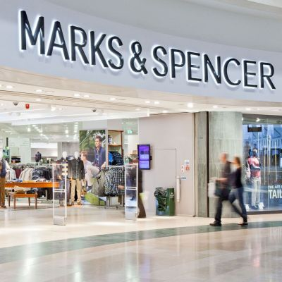 Marks & Spencer-Store im Shopping-Center Bluewater