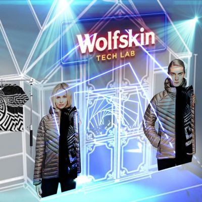 Pop-up von Wolfskin Tech Lab x Gianni Versace Retrospective