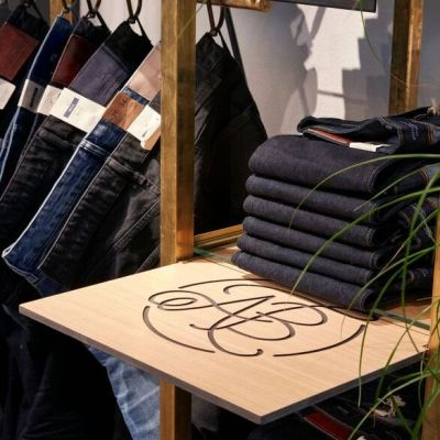 Scotch & Soda: Shop-in-Shop-Konzept für die Denim-Linie Amsterdams Blauw