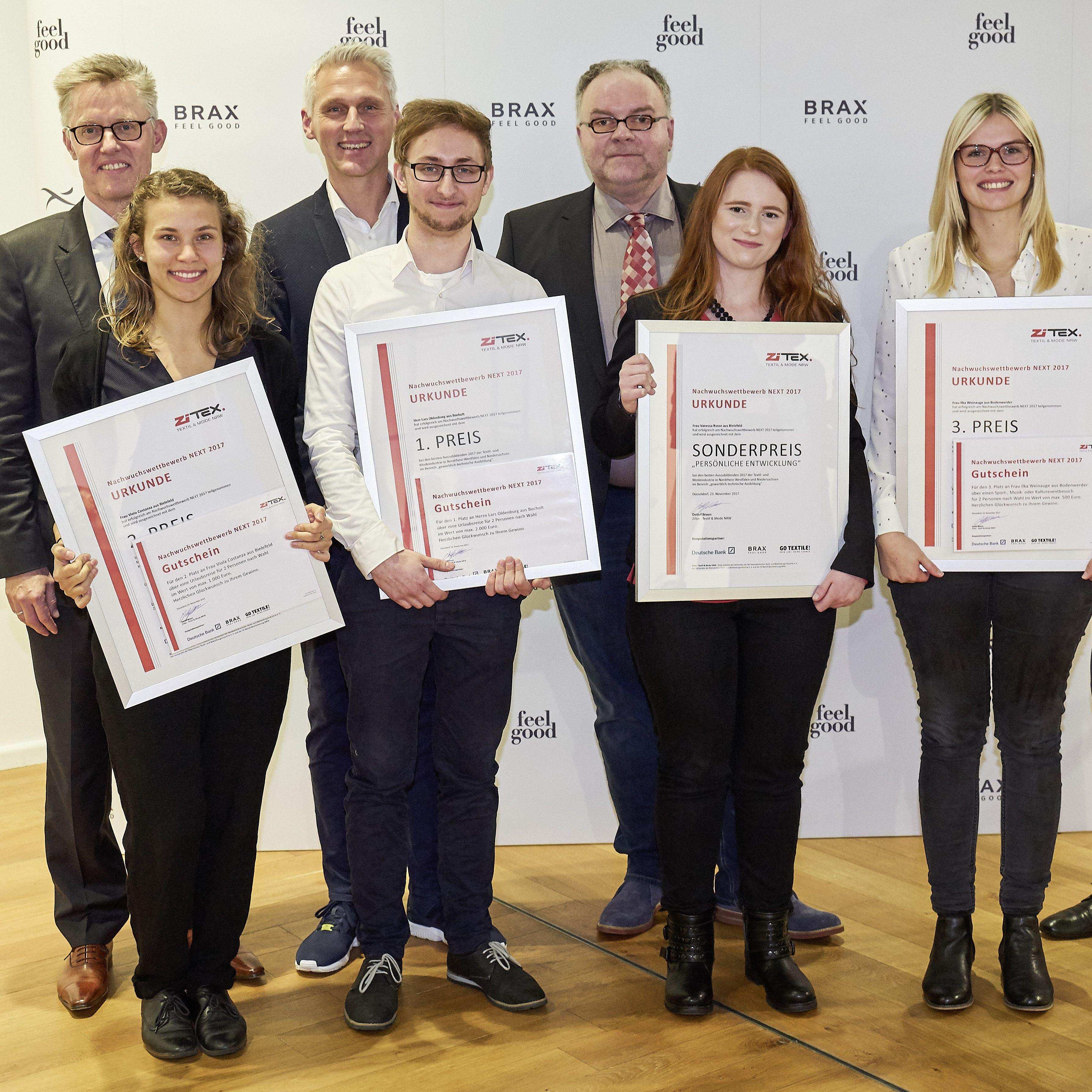NRW dagsbillett enkelt award
