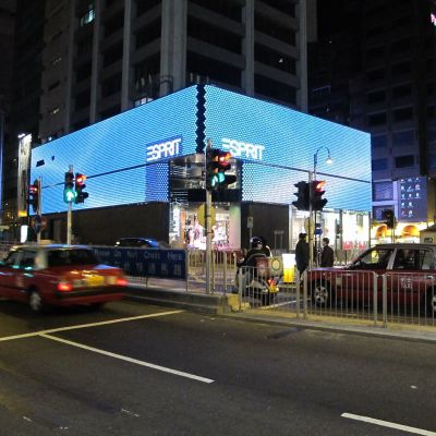 Flagship-Store von Esprit in der Peking Road in Tsim Sha Tsui