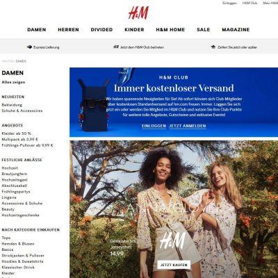 Online Shopping Dauert Länger Hm Hat Lieferprobleme