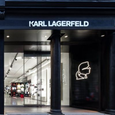 Karl Lagerfeld in New York