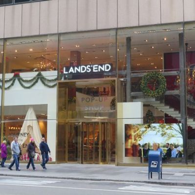 Pop-up-Store von Lands' End in New York